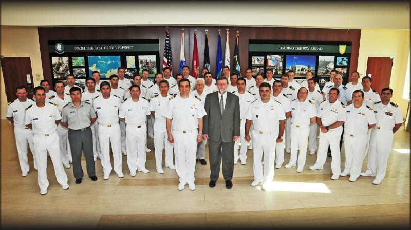 Chilean Naval War College Visits U.S. Southern Command