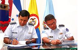 Honduras and Colombia Sign a Mutual Overflight Agreement to Combat Small Drug Planes