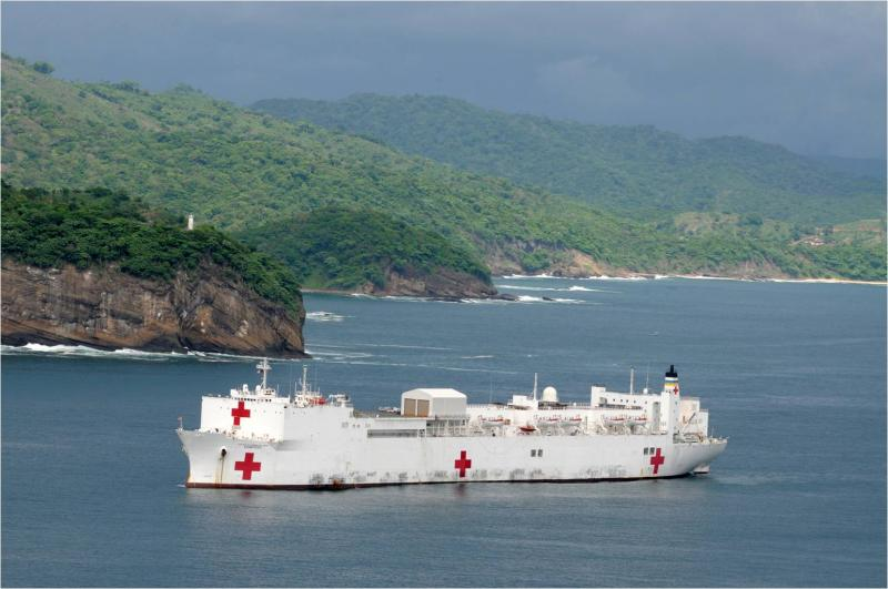 Comfort Sails Into Final Phase of Continuing Promise Mission