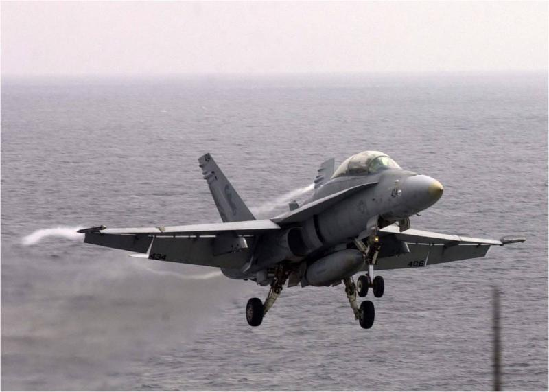 Boeing Presents the F-18E/F Super Hornet Simulator at the Congress in Brasilia