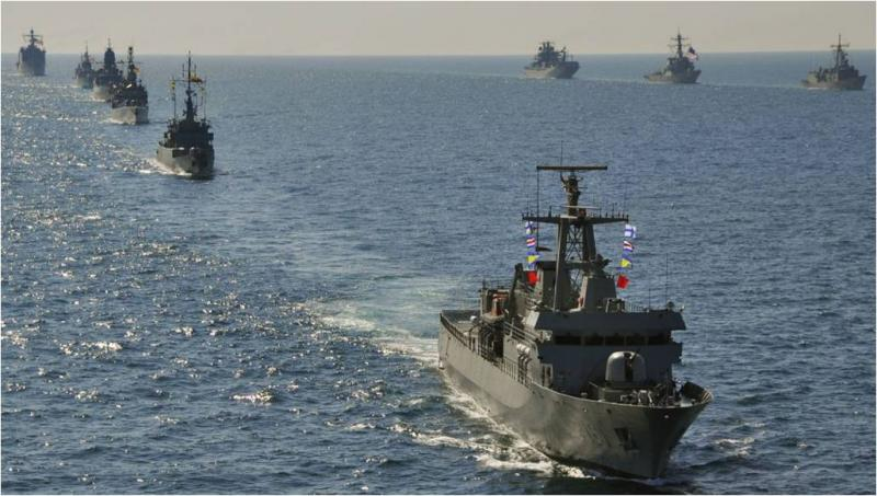 The Argentine, Brazilian, Paraguayan, and Uruguayan Navies Conduct the Acrux V Exercise