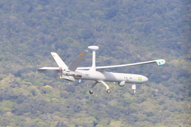 Brazil Debuts the Hermes Unmanned Aerial Vehicle in Amazonas