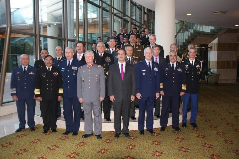 U.S., and South American Defense Chiefs Gather In Chile