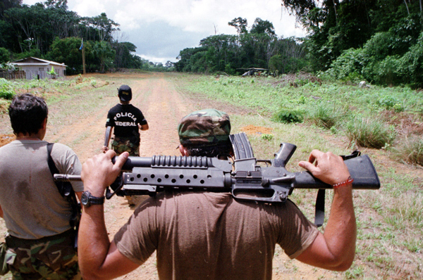 Enforcement Increases on Brazil's Borders