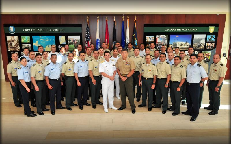 Colombian War College Students Visit SOUTHCOM
