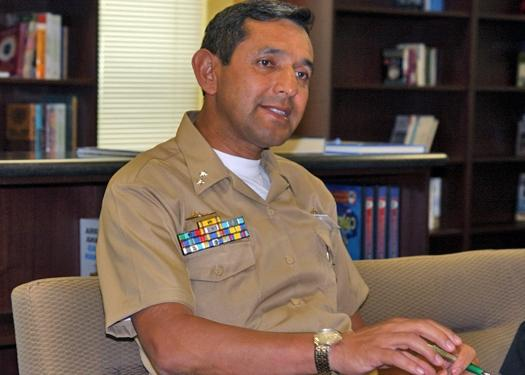 Interview with Rear Admiral Germán González Reyes of the Colombian Armed			Forces