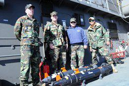 U.S. Technicians and Undersea Robots Collaborate on Recovery Tasks in Chile