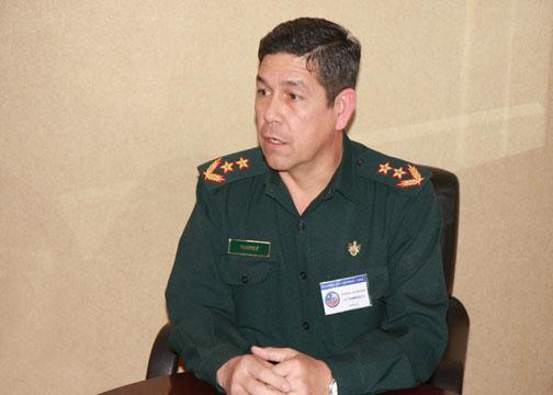 Interview with Paraguayan Major General Jorge Francisco Ramírez Gómez