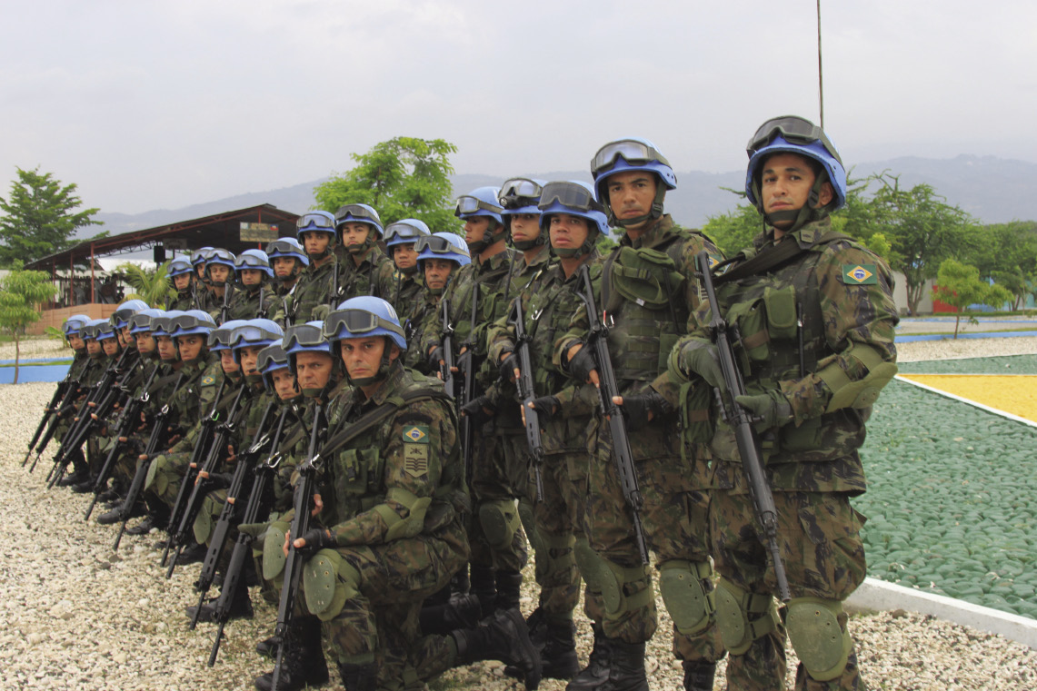 Brazilian Air Force Mission Delivers Peace To Haiti