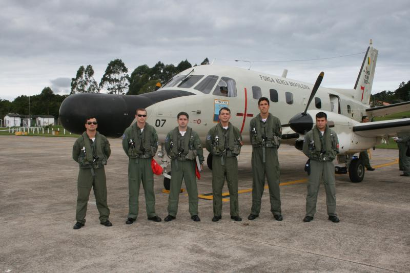 Surveillance and Aerial Control of Brazilian Territorial Waters