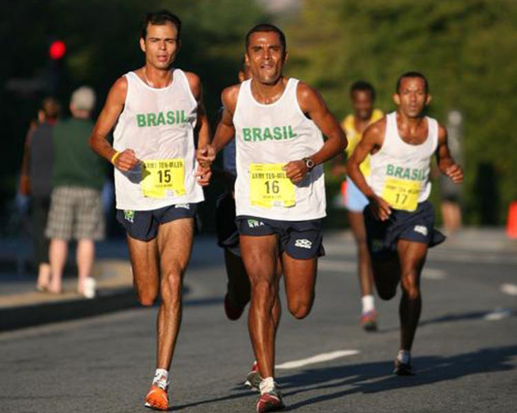 Brazilian Army Team Takes Second Place in Army Ten-Miler