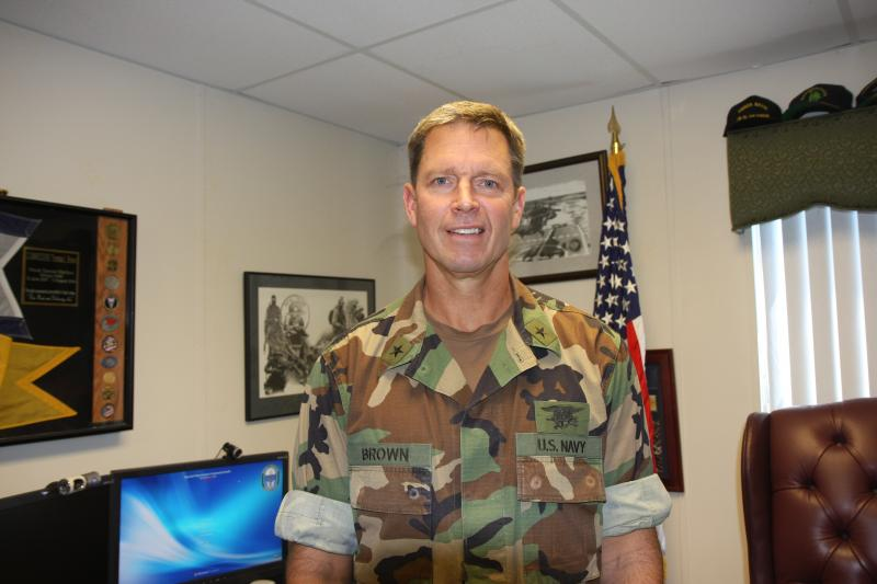 Interview with RDML Brown, SOCSOUTH Commander