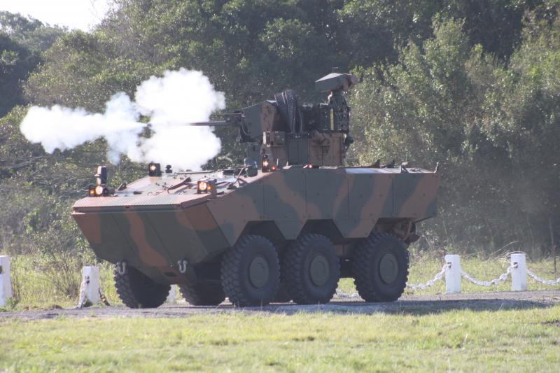 Brazilian Army Presents Unmanned Turret Technology