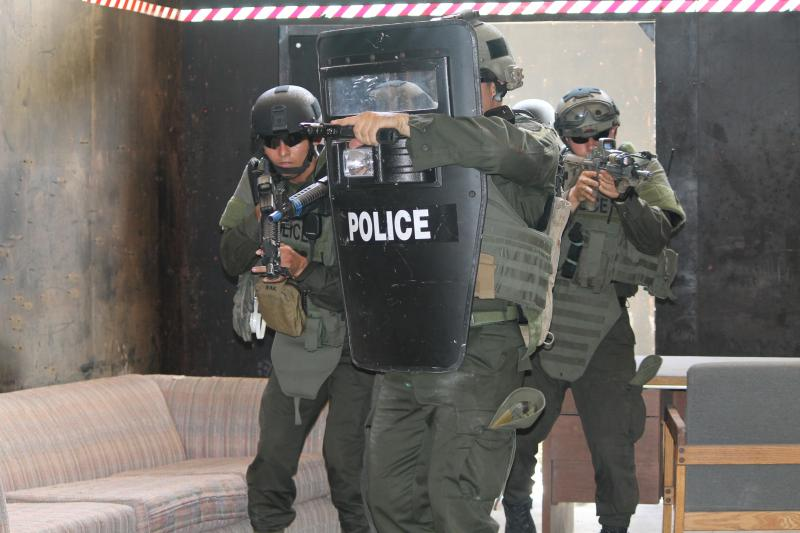 Colombian and Miami Police Participate in Joint Training