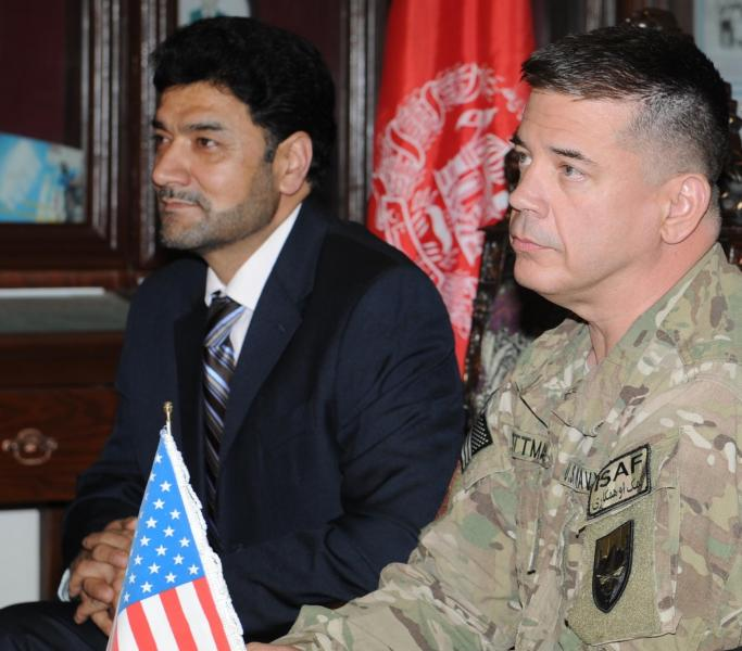 U.S., Afghan Officials Forge Olympic Partnership