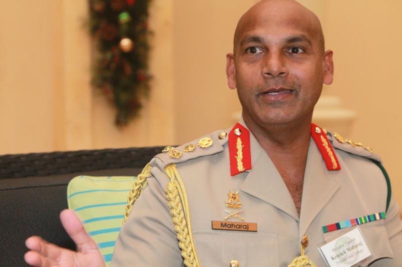 Interview with Brig Gen Kenrick Maharaj, Trinidad and Tobago Chief of Defense Staff