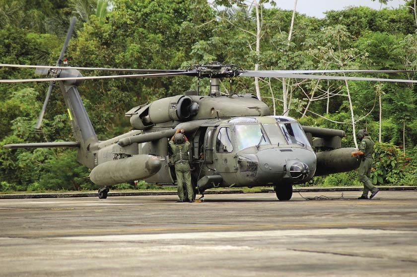 Brazilian Army Aviation in the Amazon