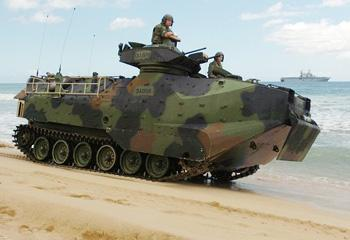 Chilean Navy is Negotiating Acquisition of 12 AAV-7 Amphibious Vehicles