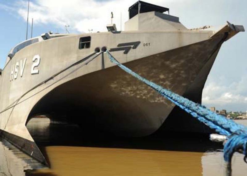 US Navy Vessel Swift 2 Arrives in Peru