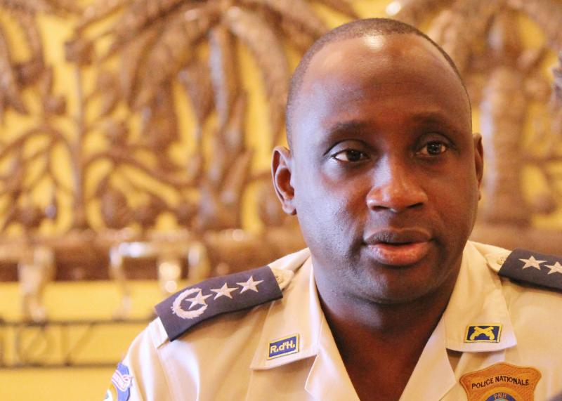 Interview with Mario Andresol, Director General, Haitian National Police