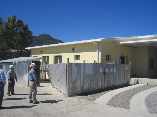 Nicaraguan Labor Aids U.S. Construction of Hospital Wing