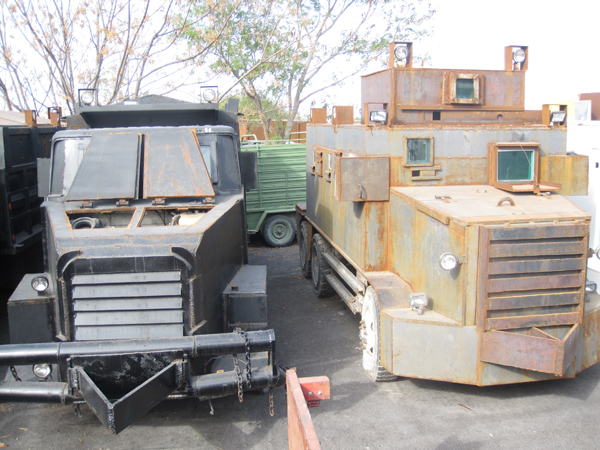 Mexico: Authorities seize armored vehicles from drug trade