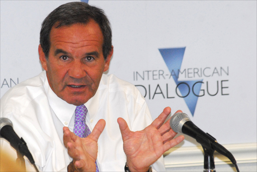 Chilean Defense Minister Andrés Allamand Outlines Security Agenda