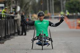 Wounded and Amputee Military Personnel Race in Bogotá