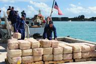 Operation Martillo: U.S. Coast Guard Offloads Seized Cocaine