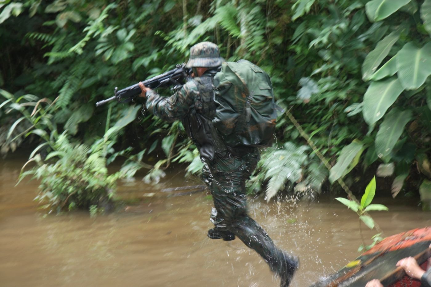 Iwias: Masters of the Jungle, Demons of Ecuador's Army