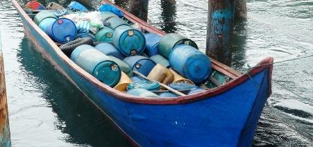 Colombian Navy Seizes Fuel Intended for Drug Traffickers