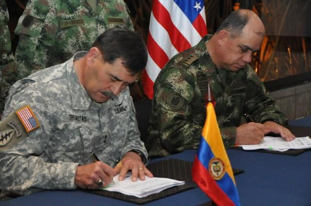 US, Colombian Armies Conclude Annual Staff Talks