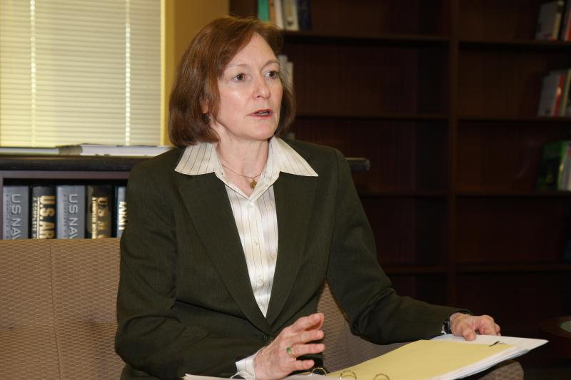 Interview with Marilyn Quagliotti, Deputy Director for Supply Reduction