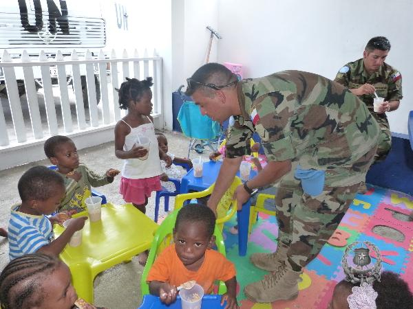 Civil-Military Cooperation of the Company of Engineers in Haiti