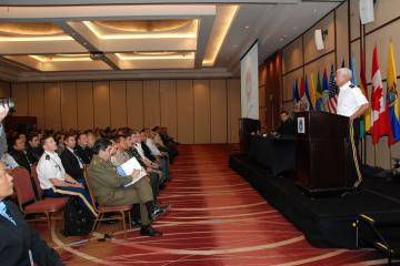 U.S. Army South, Chile Kick-Off PKO-Americas Command Post Exercise