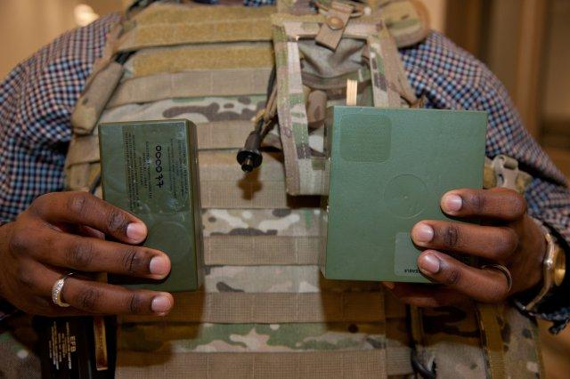 Improved Batteries to Lighten Soldiers' Load