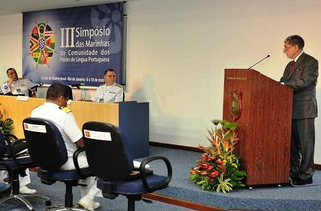 Third Symposium of Navies from the Community of Portuguese-Speaking Countries Is Inaugurated