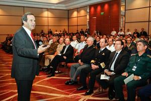 Chilean Defense Minister Closes PKO-Americas 2012 Exercise