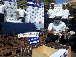 Chilean Navy Seizes Cocaine Coming from Bolivia