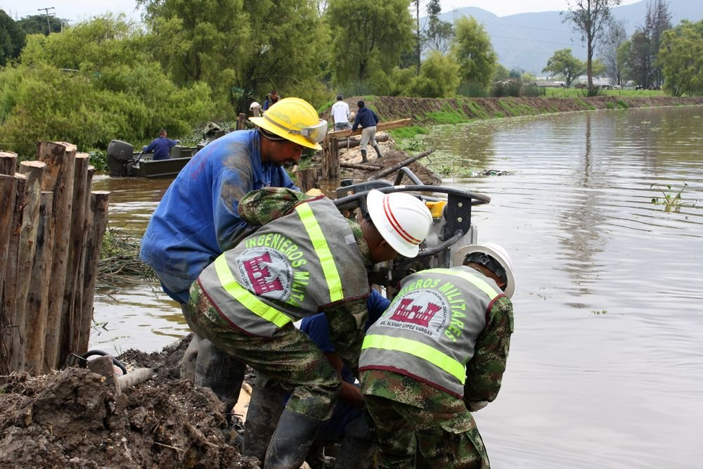 Flooding Prompts Humanitarian Response from Colombian Army