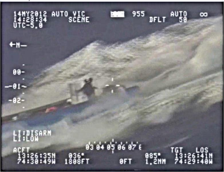 Speedboat Carrying Cocaine Intercepted in Colombian Caribbean