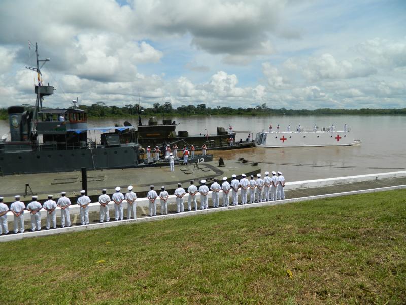 Colombian Military Personnel Begin Colombia-Peru Development Support Campaign