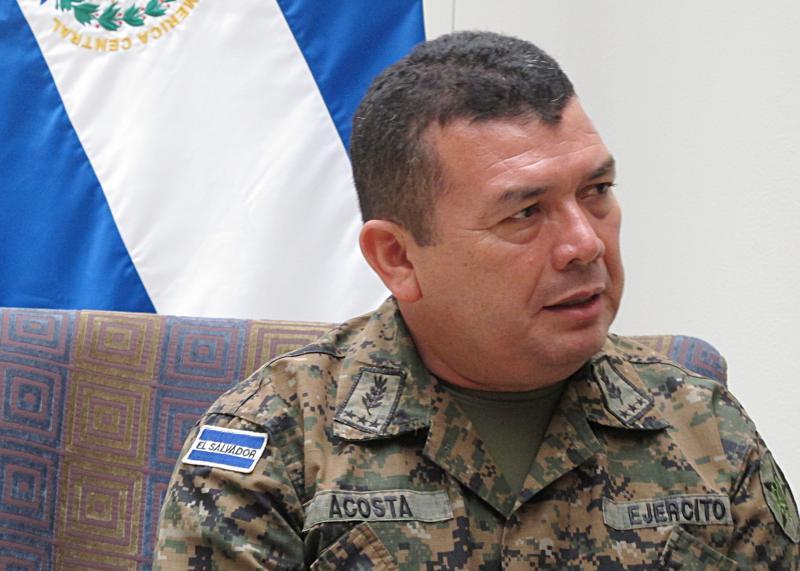 Interview with Major General César Adonay Acosta Bonilla
