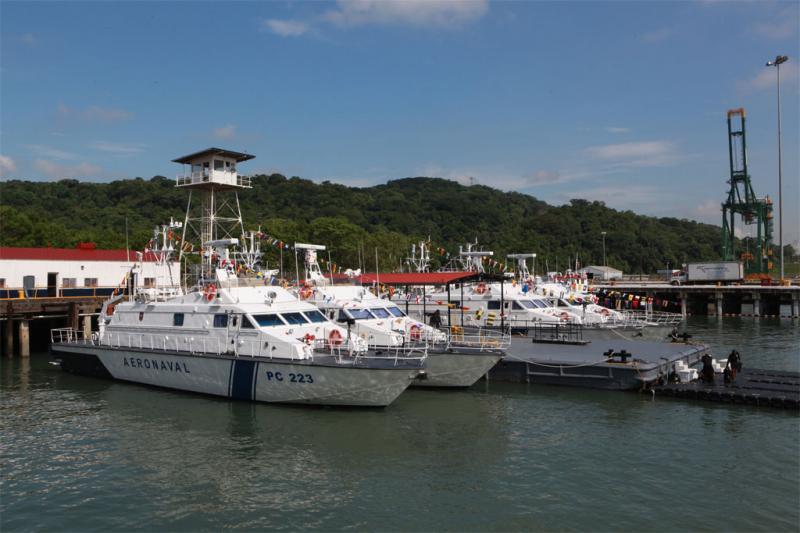 Italy Donates Four Boats to Panama to Combat Drug Trafficking