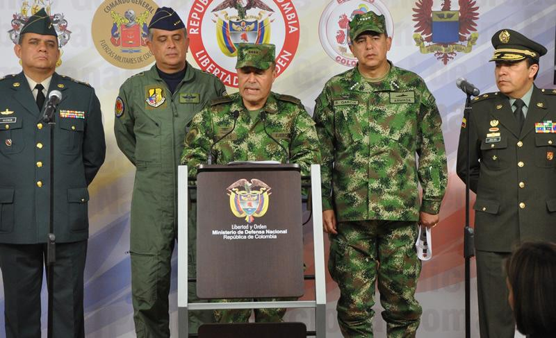 Santos Celebrates Virtual Dismantling of Another FARC Front