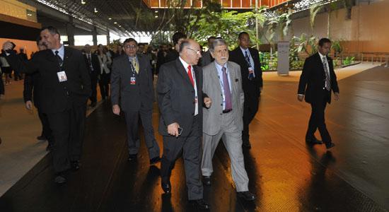 Brazilian Defense Minister Praises Security Framework for Rio+20