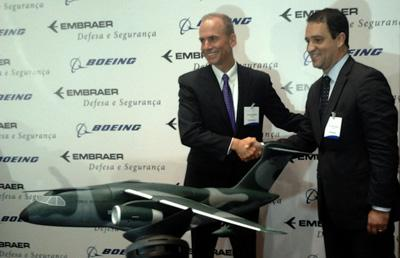 Embraer-Boeing Agreement to Build KC-390 Military Transport Plane