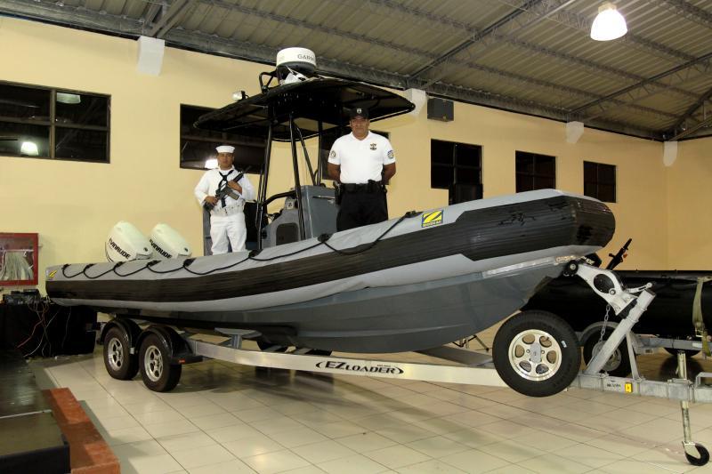 U.S. Donates Equipment to Combat Drug Trafficking in El Salvador