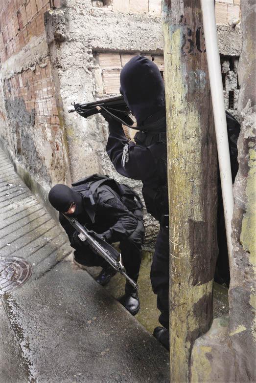 Asymmetric Threats And Local Police