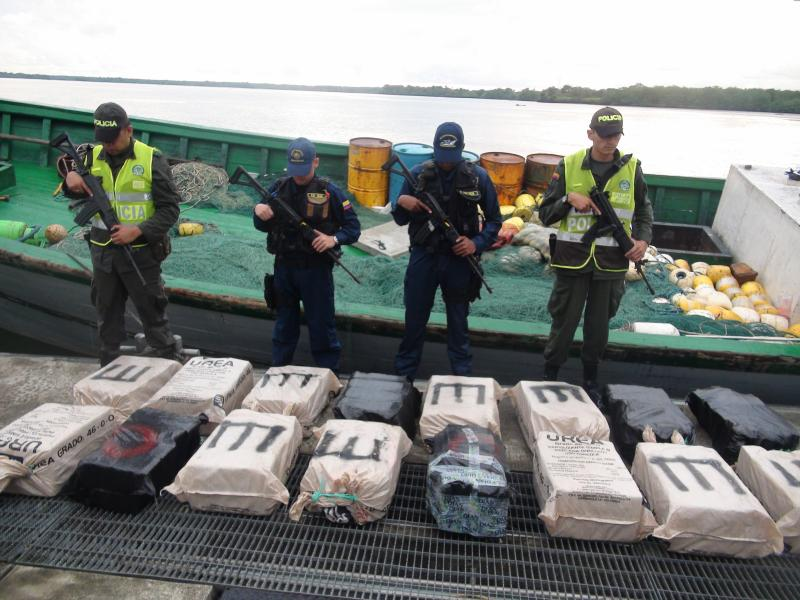 More Than Half Ton of Cocaine Seized in Colombia